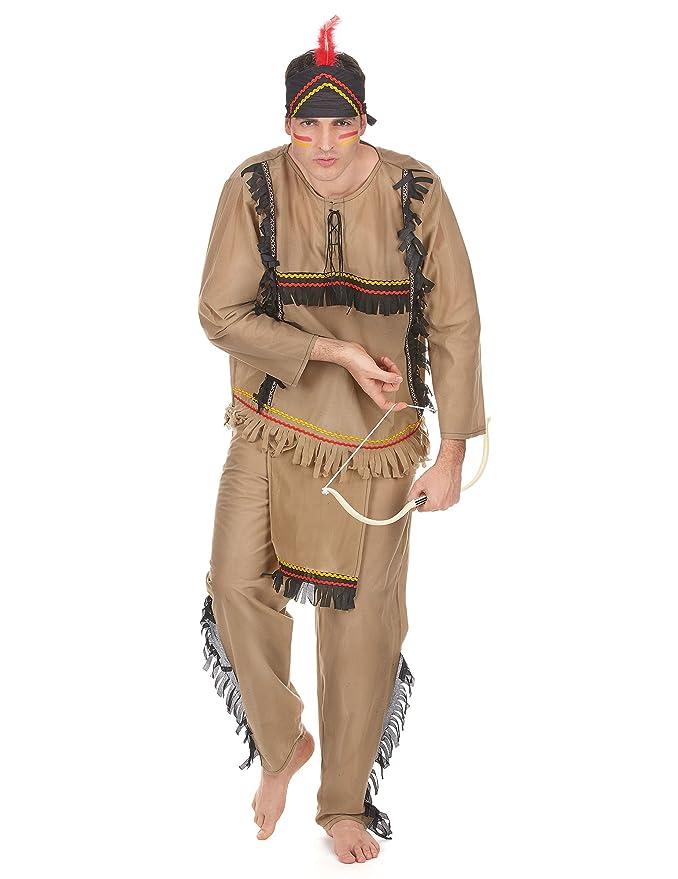 Disfraz de indio para hombre: Amazon.es: Juguetes y juegos