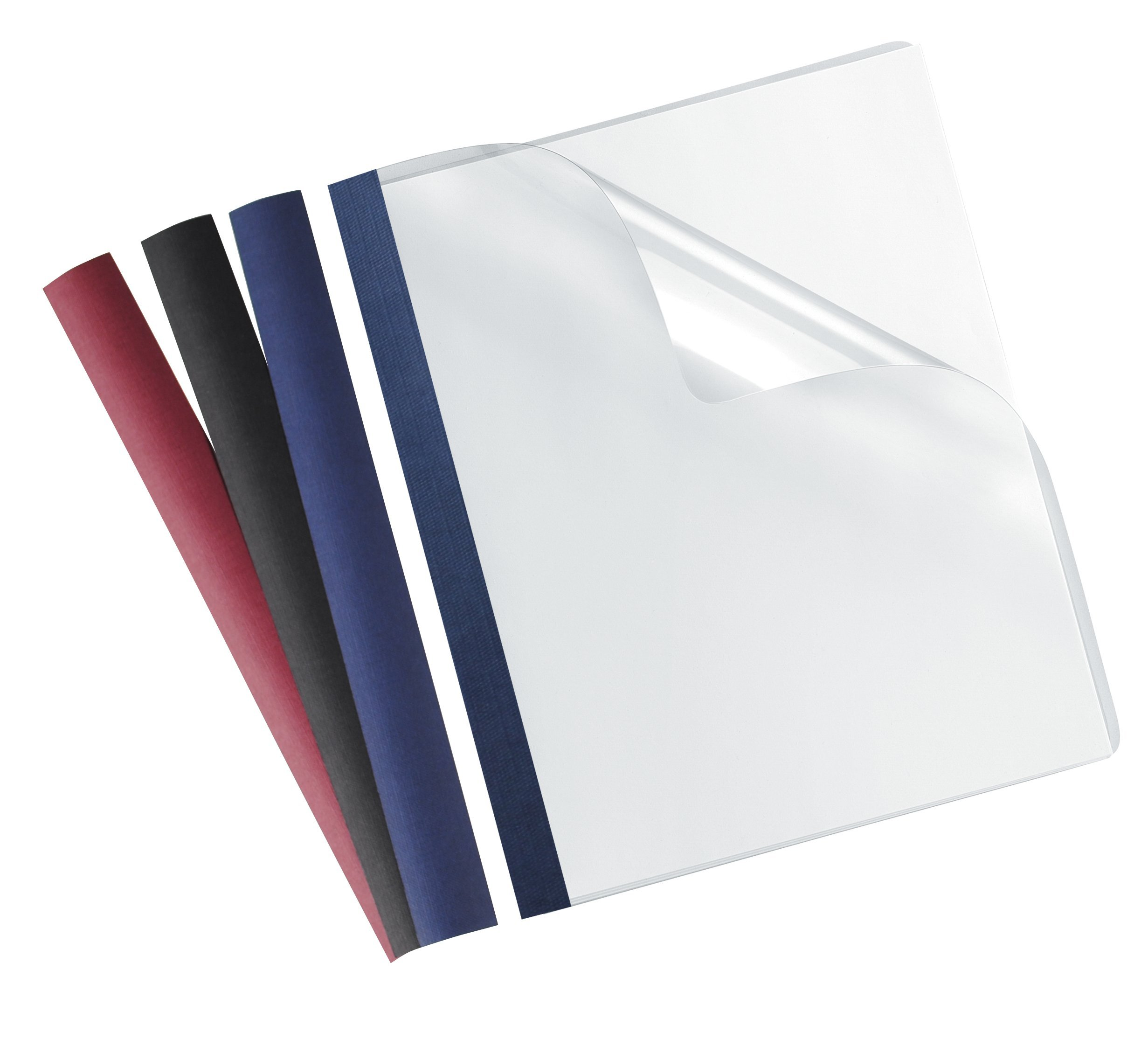 Fellowes Recyclable Binding Covers Ultra Clear, 5 Mil, Letter, 100 Pack (5242501) by Fellowes (Image #2)