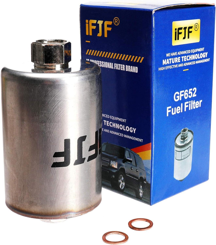 Amazon.com: iFJF GF652 (FF5026) Professional Inline Fuel Filter Replacement  for Chevy/GMC C1500 C2500 C3500 Silverado/Sierra 2500HD Suburban Express  Avalanche Replaces 33481 G3727: Automotive   Chevrolet Truck P30 Fuel Filter      Amazon.com