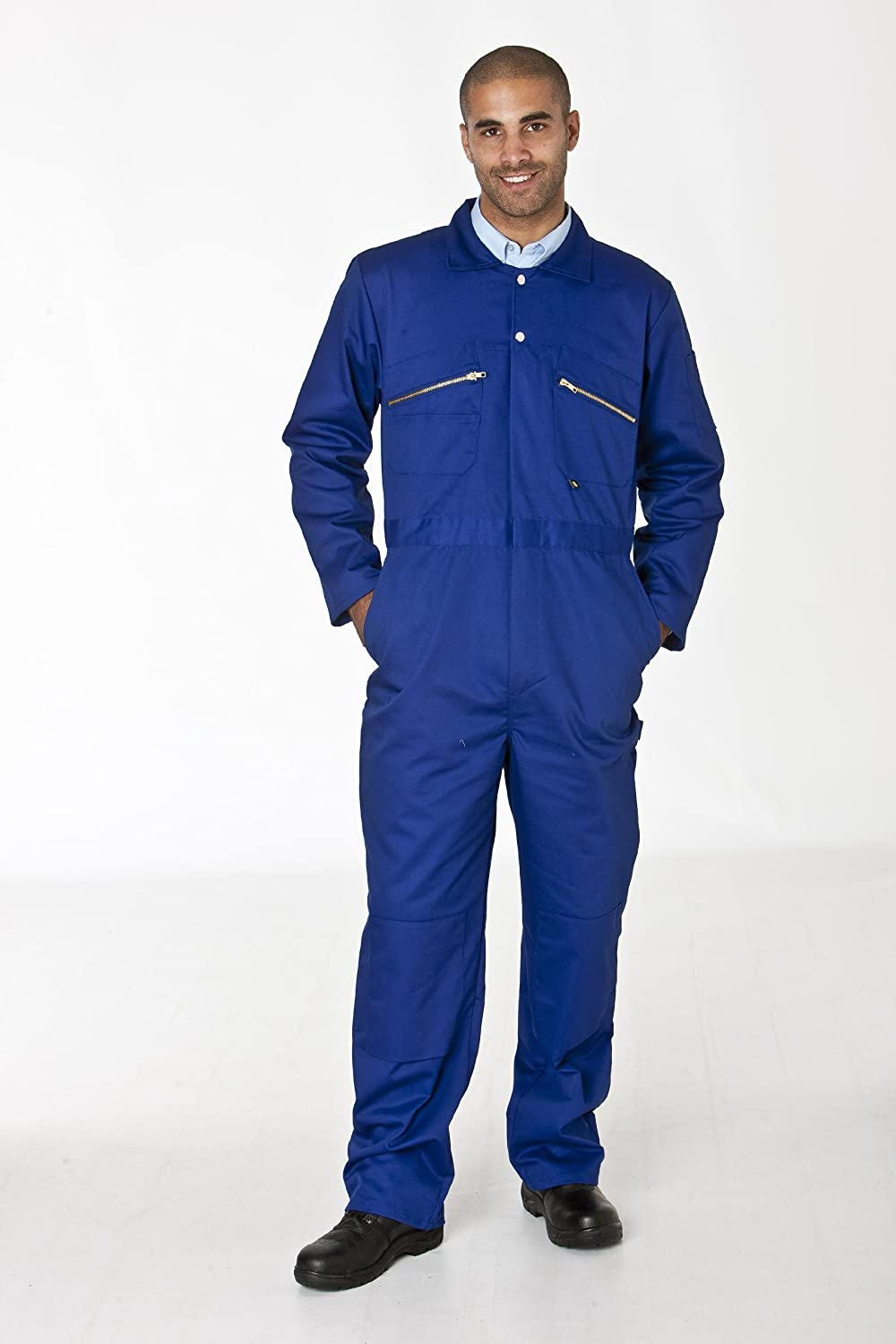 Dickies Redhawk Zipped Coverall Zip Front Overall Workwear Boilersuit WD4839