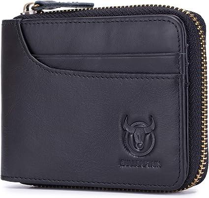 Men/'s Leather Wallet Purse ID Credit Card Holder Pocket Case Wallet RFID Block