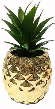 Golden Porcelain Pot