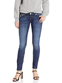 True Religion Womens Stella Flap Lurex Jeans