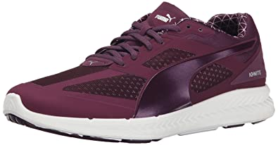 PUMA Women's Ignite PWRWARM Running Shoe, Italian Plum, ...