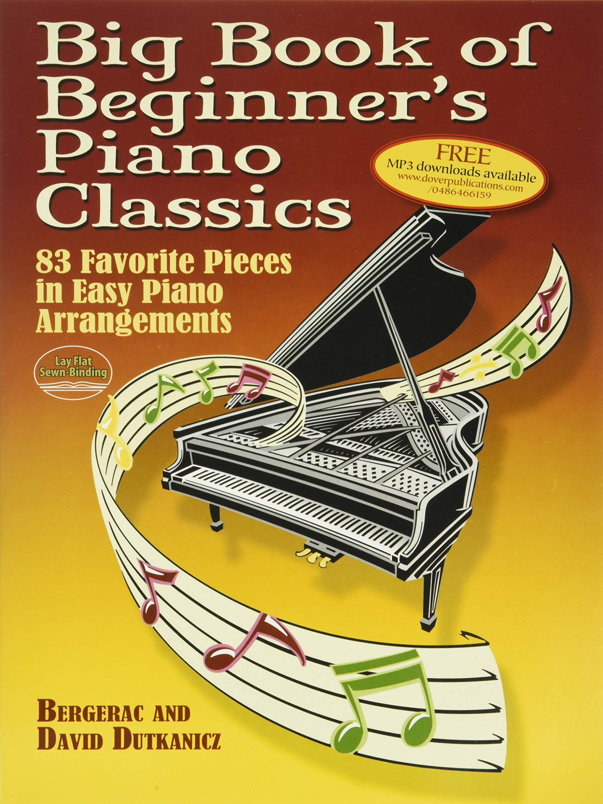 100 Easy Classics For Piano Learn to Play Piano Birthday Present MUSIC BOOK