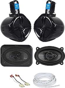 Front Speaker Upgrade Kit For 87-95-JEEP-WRANGLER-YJ