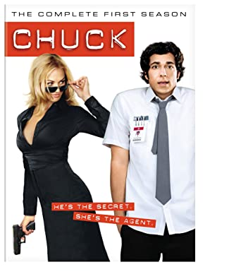 Chuck the complete first season amazon various dvd chuck the complete first season voltagebd Choice Image