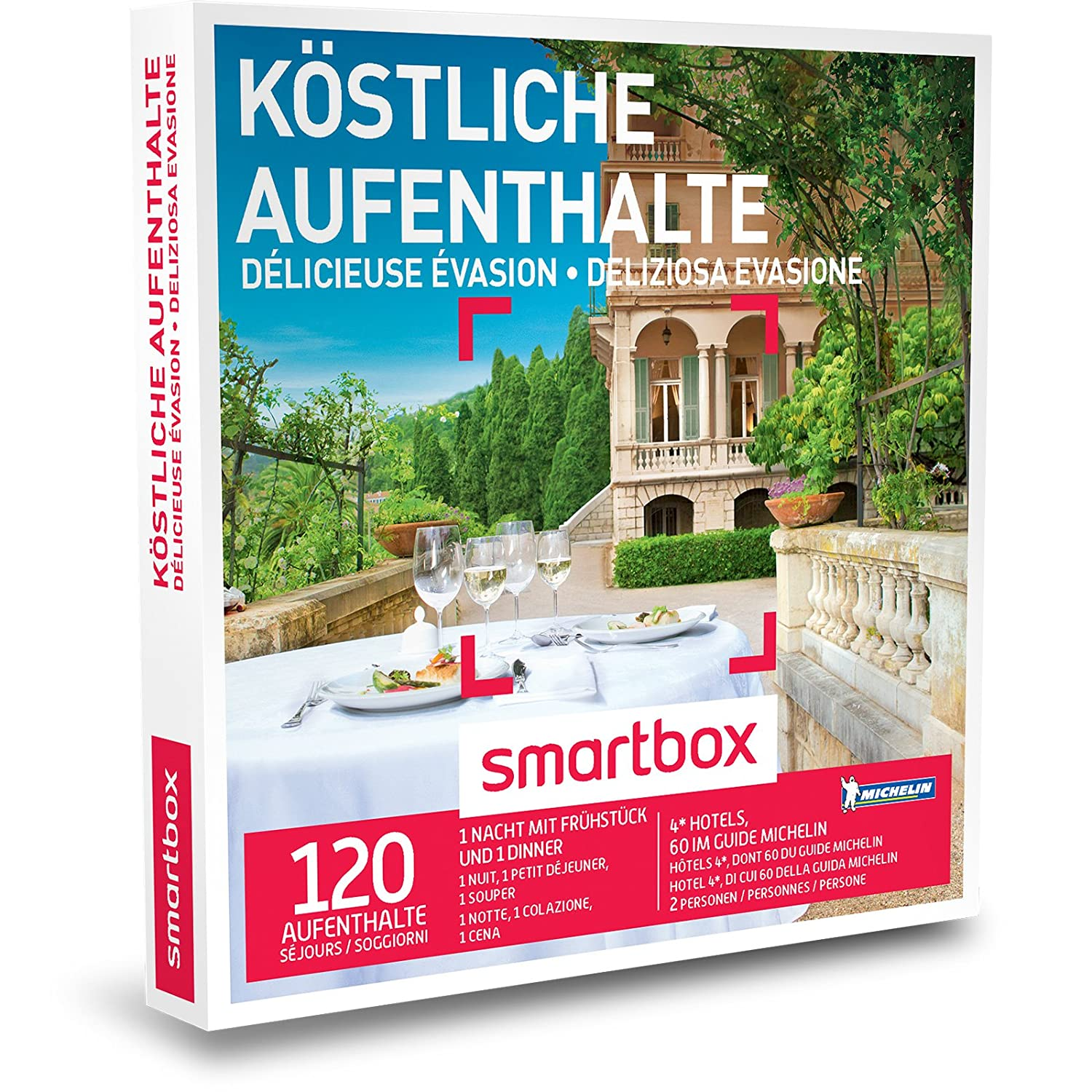 Smart Box Switzerland - Gift Box - You - 4 * Hotels, 60 Michelin ...