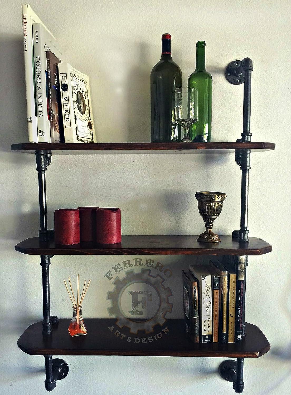Amazon.com: Steampunk furniture,pipe Bookshelf, Bookshelves ...
