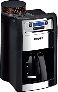 KRUPS-KM785D50-Grind-and-Brew-Auto-Start-Maker-with-Builtin-Burr-Coffee-Grinder