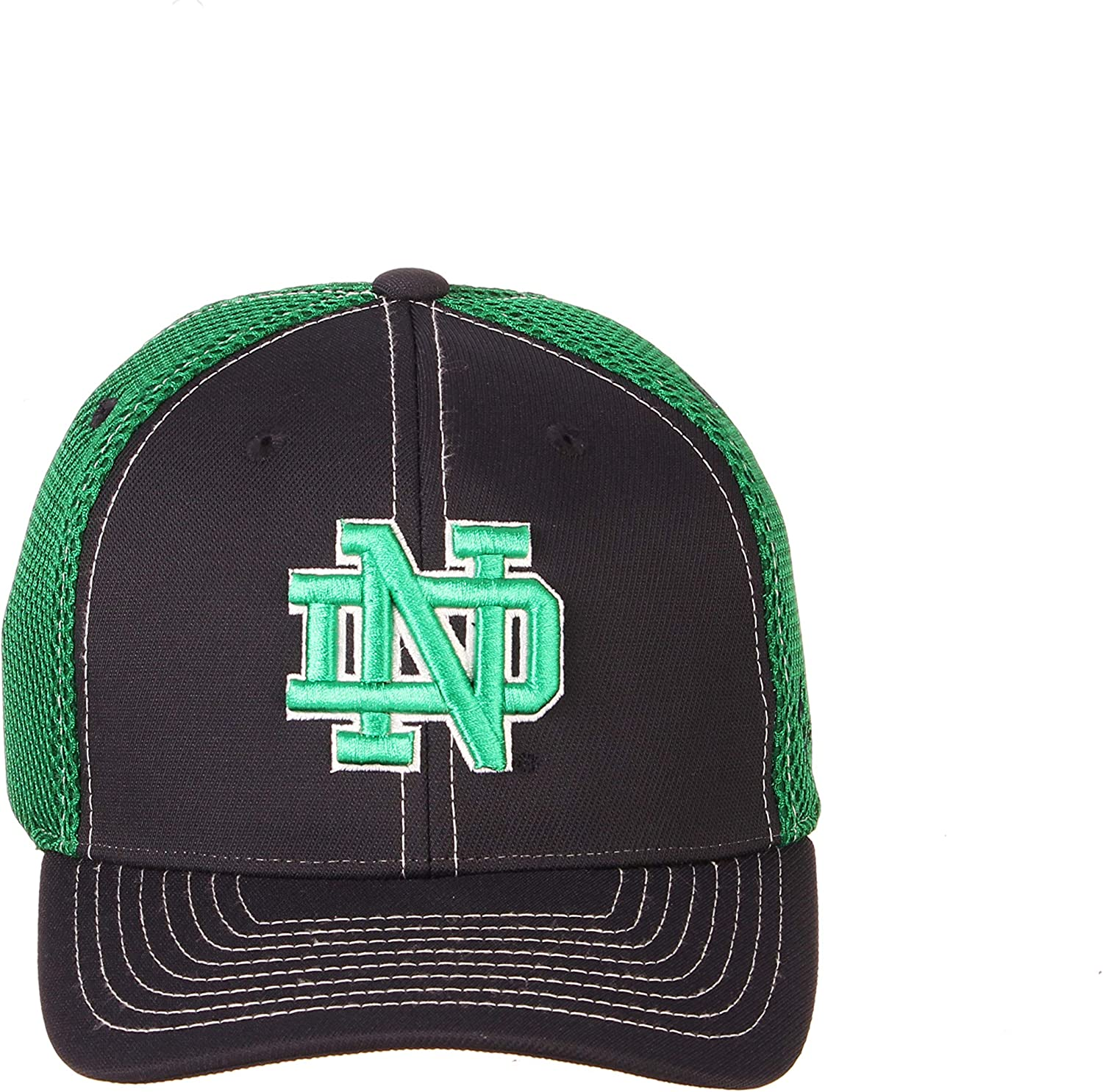 Youth Adjustable NCAA Zephyr Notre Dame Fighting Irish Youth Chute Adjustable Hat Team Color