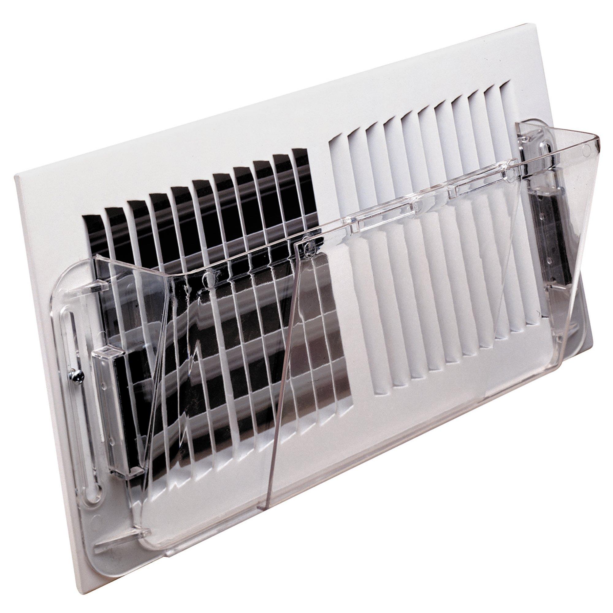 Deflecto Adjustable Wall Air Deflector, 10'' x 16'' (51)