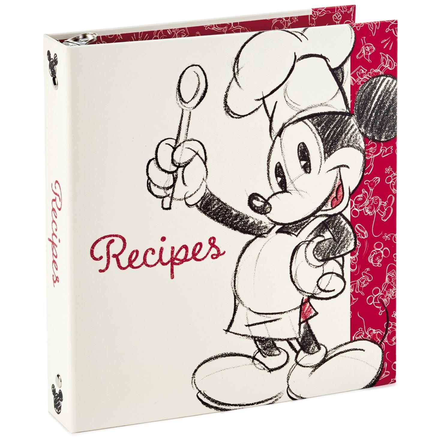 Hallmark Mickey Mouse Recipe Book by HMK