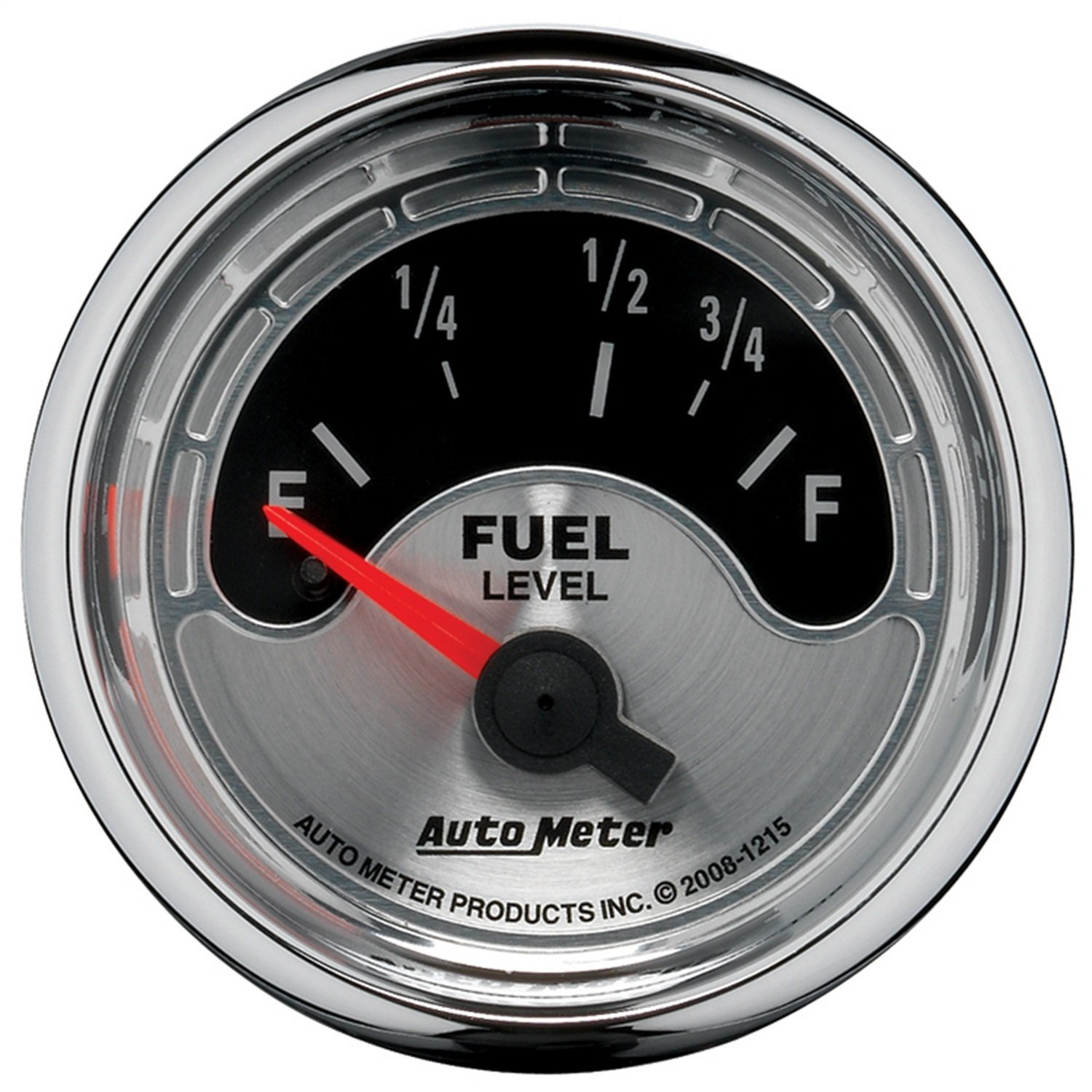 Auto Meter 1215 American Muscle 2-1//16 Short Sweep Electric Fuel Level Gauge for Ford and Chrysler