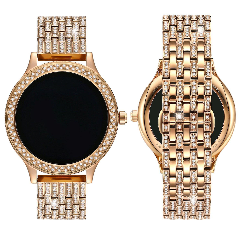 Banda de Reloj de Diamantes para Fossil Q Venture Gen 3, 18 ...