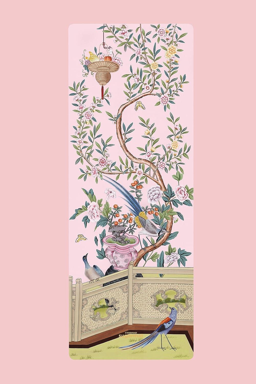 Amazon.com : Pink Pampas Yoga Mat Panel 1 / Designed in ...