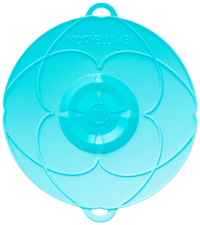 Kochblume Tapa Flor XXS Silicona Turquesa 16.5 cm