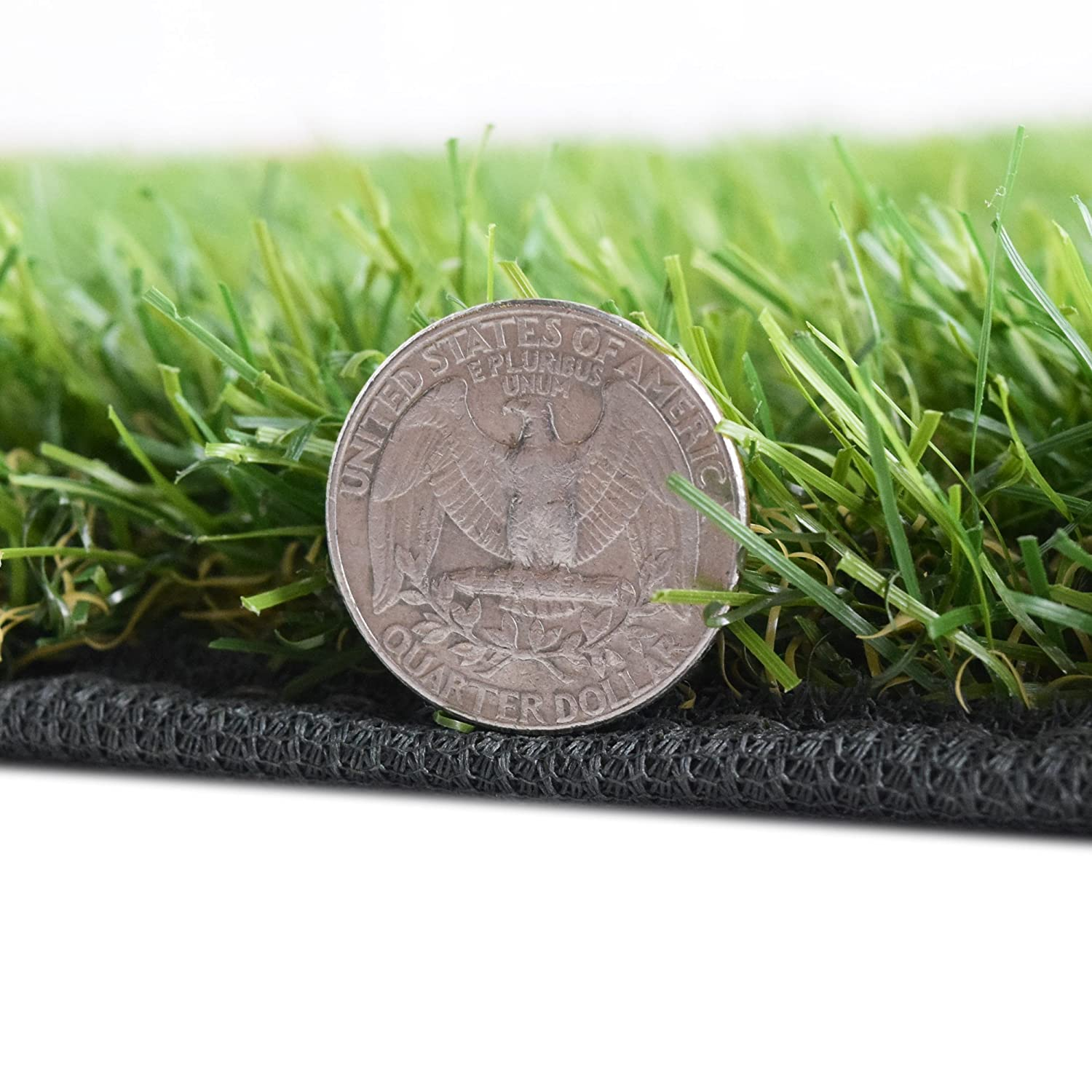 iCustomRug Thick Synthetic Artificial Grass Available In Many Sizes With Finished Edges All Around And Drainage Holes
