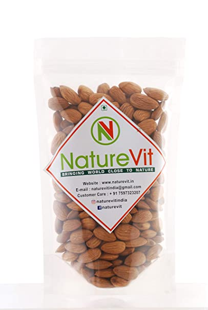 Nature Vit California Almonds/Badam -400 g: Amazon in