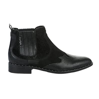 Boots femme - REPUBLYKA - Noir - JANE - Millim msbEv