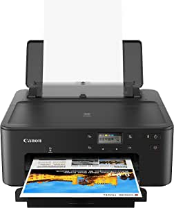 Canon PIXMA TS702 Wireless Single Function Printer | Mobile Printing with AirPrint(R), Google Cloud Print, and Mopria(R) Print Service, Works with Alexa