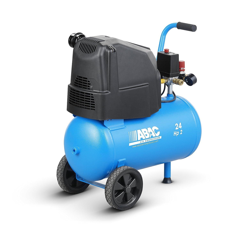Compresor de pistón coaxial sin aceite ABAC 4116023461 Serie PRO Mod.: POLE POSITION O20P: Amazon.es: Bricolaje y herramientas