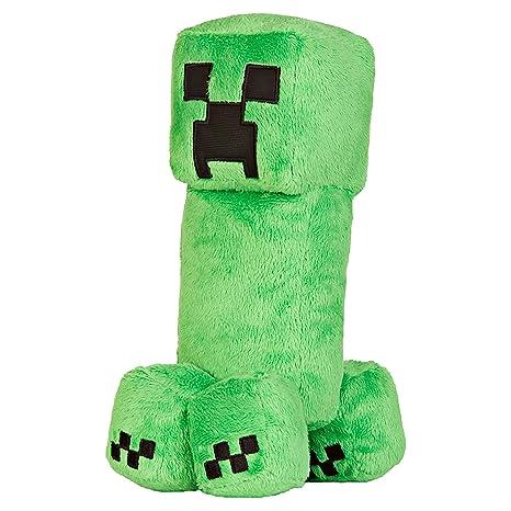 9e997a7765e9 Amazon.com  JINX Minecraft Creeper Plush Stuffed Toy (Green
