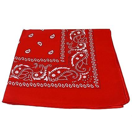 b7c6772d959b Echarpe à motifs cachemire noir et blanc des deux côtés, Red, Lot de ...