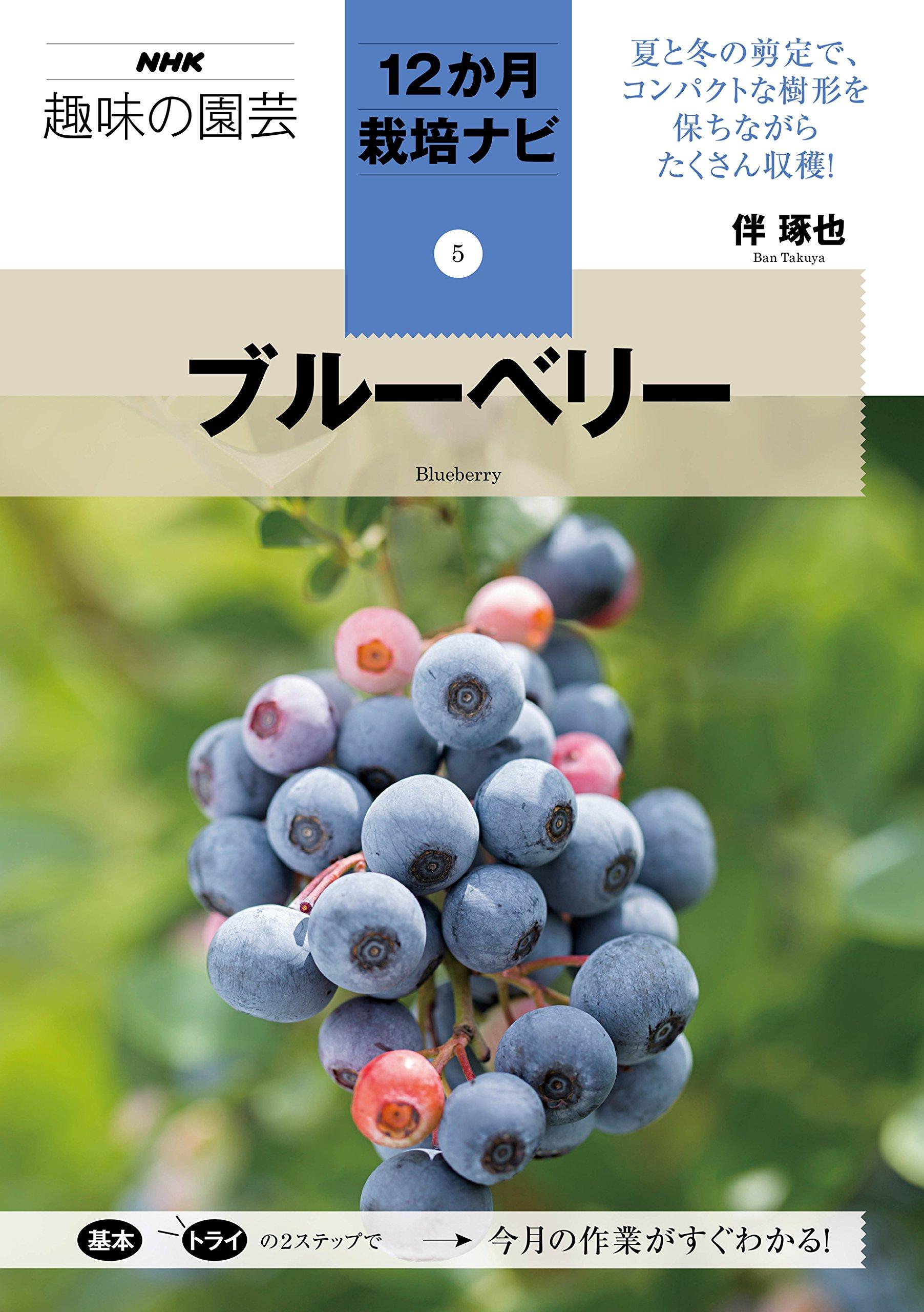 ブルーベリー NHK趣味の園芸12か月栽培ナビ(5)