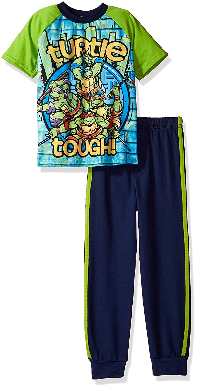 Nickelodeon Boys' Teenage Mutant Ninja Turtle Graphic Tee Tank Set Bentex Children' s Apparel 27P1232TC