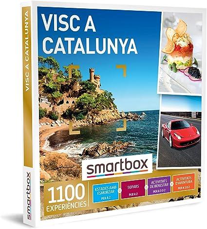 SMARTBOX - Caja Regalo - Visc a Catalunya - Idea de Regalo - 1 experiència destada, benestar, gastronomia o Aventura per a 1 o 2 persones: Amazon.es: Deportes y aire libre