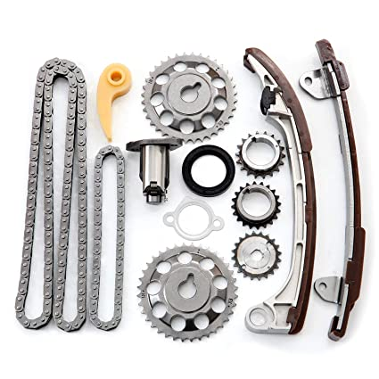 Amazon com: OCPTY Timing Chain Kit Tensioner Guide Rail Crank