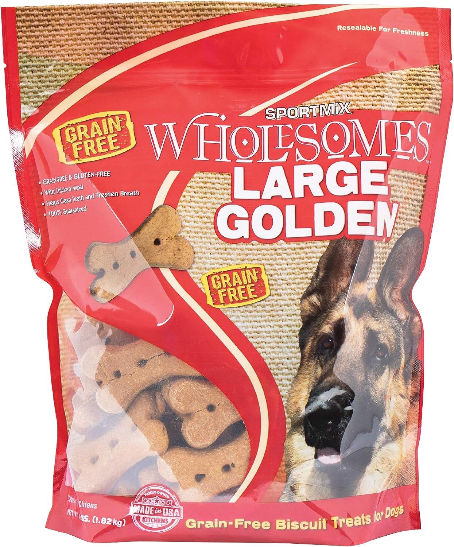 Midwestern Pet Foods Sportmix Original Choice Golden Dog Biscuit Treats, Large