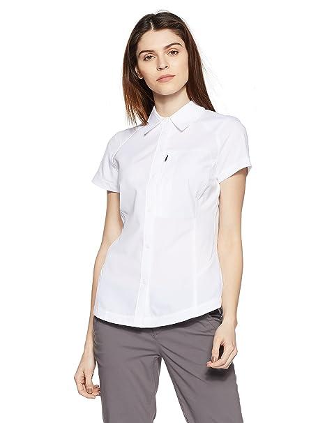 85b5fcafeb4 Amazon.com : Columbia Women's Silver Ridge Short Sleeve Shirt : Hiking  Shirts : Clothing