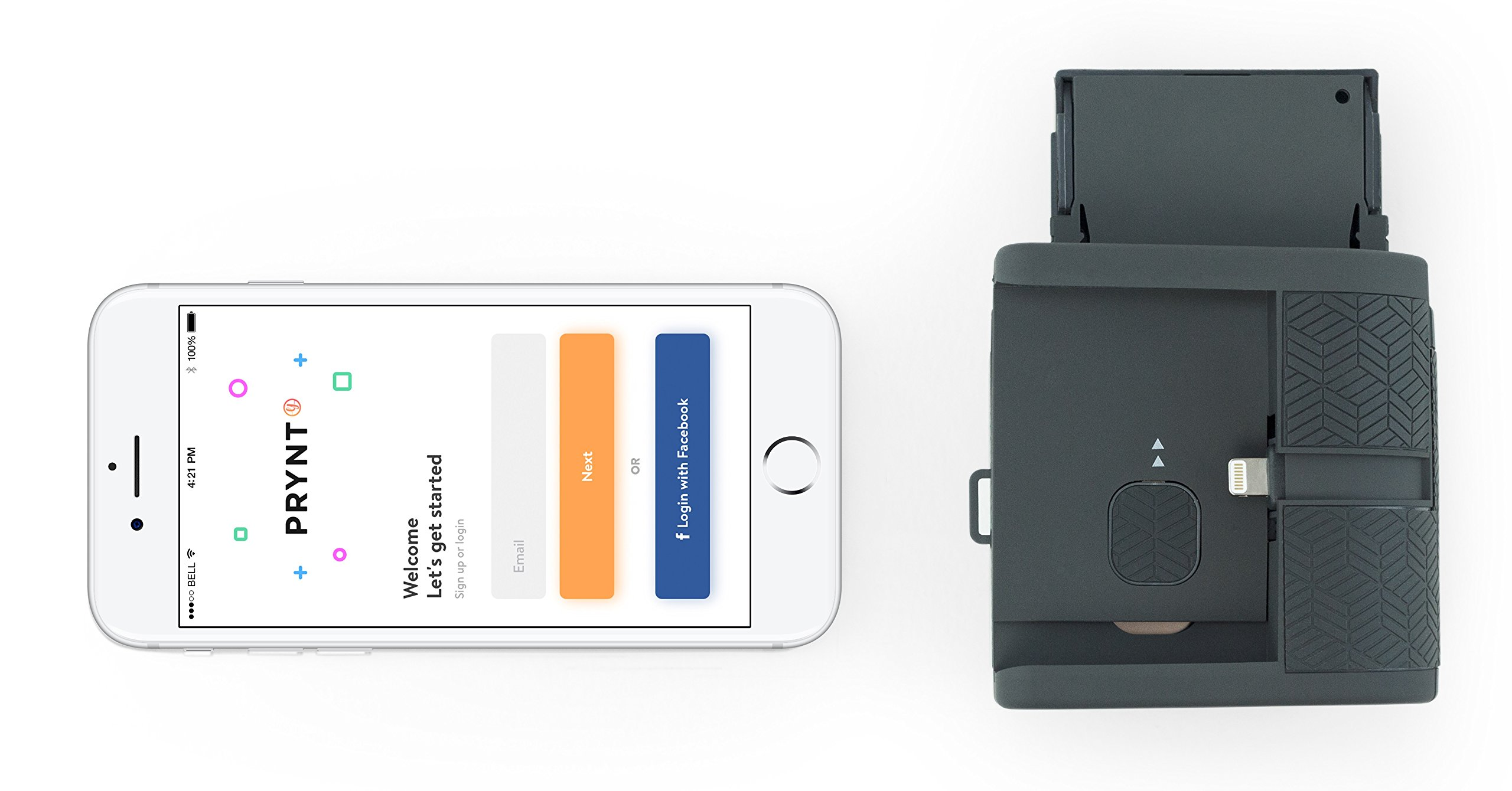 Prynt Pocket, Instant Photo Printer for iPhone - Graphite (PW310001-DG) by Prynt (Image #6)