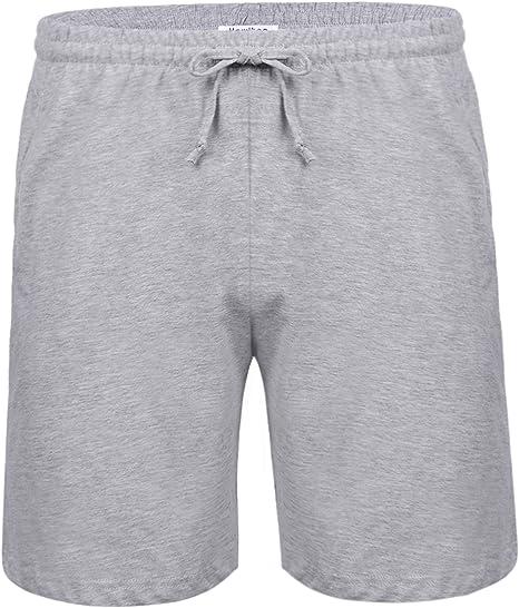 Aibrou Pantalon Pijama Corto Hombre Salón Pantalones Cortos ...