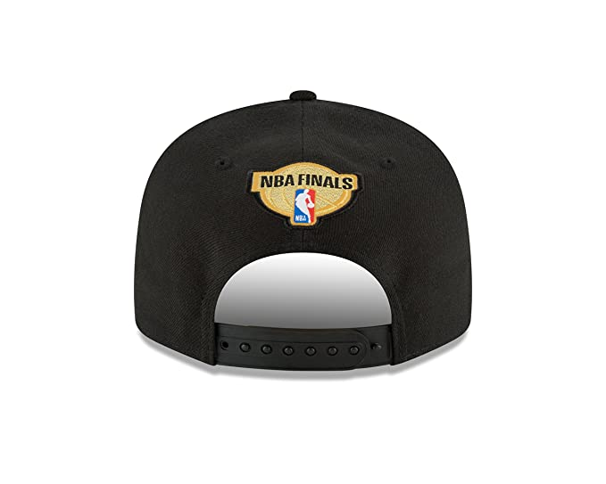 size 40 caec5 2501c Amazon.com  New Era Golden State Warriors 2018 Western Conference Champions  Locker Room 9FIFTY Snapback Adjustable Hat – Black  Clothing