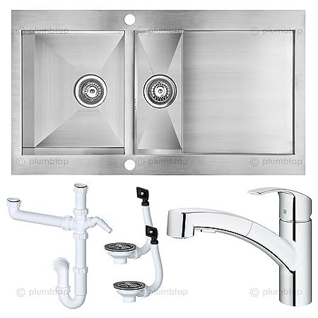 Professional Cooke & Lewis UNIK Kitchen Sink & GROHE Eurosmart ...