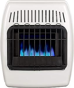 Dyna-Glo 10,000 BTU Liquid Propane Blue Flame Vent Free Wall Heater, White