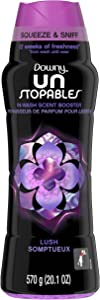 Downy Unstopable In-Wash Scent Booster Beads, Lush, 20.1 Ounce (Pack of 1)