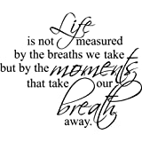 love is not measured by the breaths we take