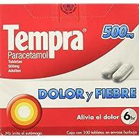 Tempra Caplets, 500 mg, 100 Piezas