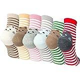 Ladies Womens Cotton Socks Cute Cat Design Novelty Crew Socks