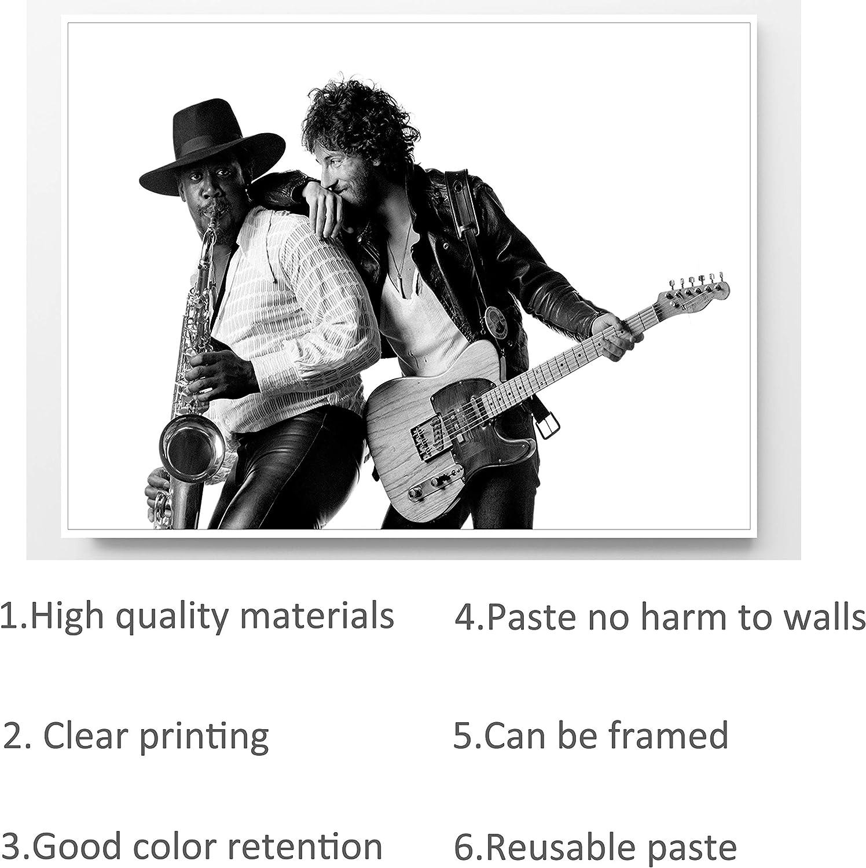 Art print POSTER CANVAS Bruce Springsteen Singing