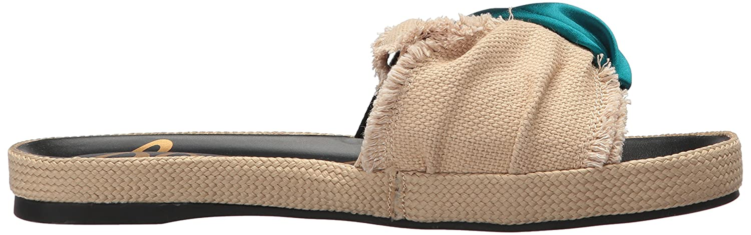 Sam Edelman Women's Bodie B(M) Slide Sandal B071YG8KSC 8 B(M) Bodie US|Natural/Jungle Green 092c9f