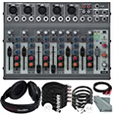 Behringer XENYX 1002B 10-Channel Audio Mixer and