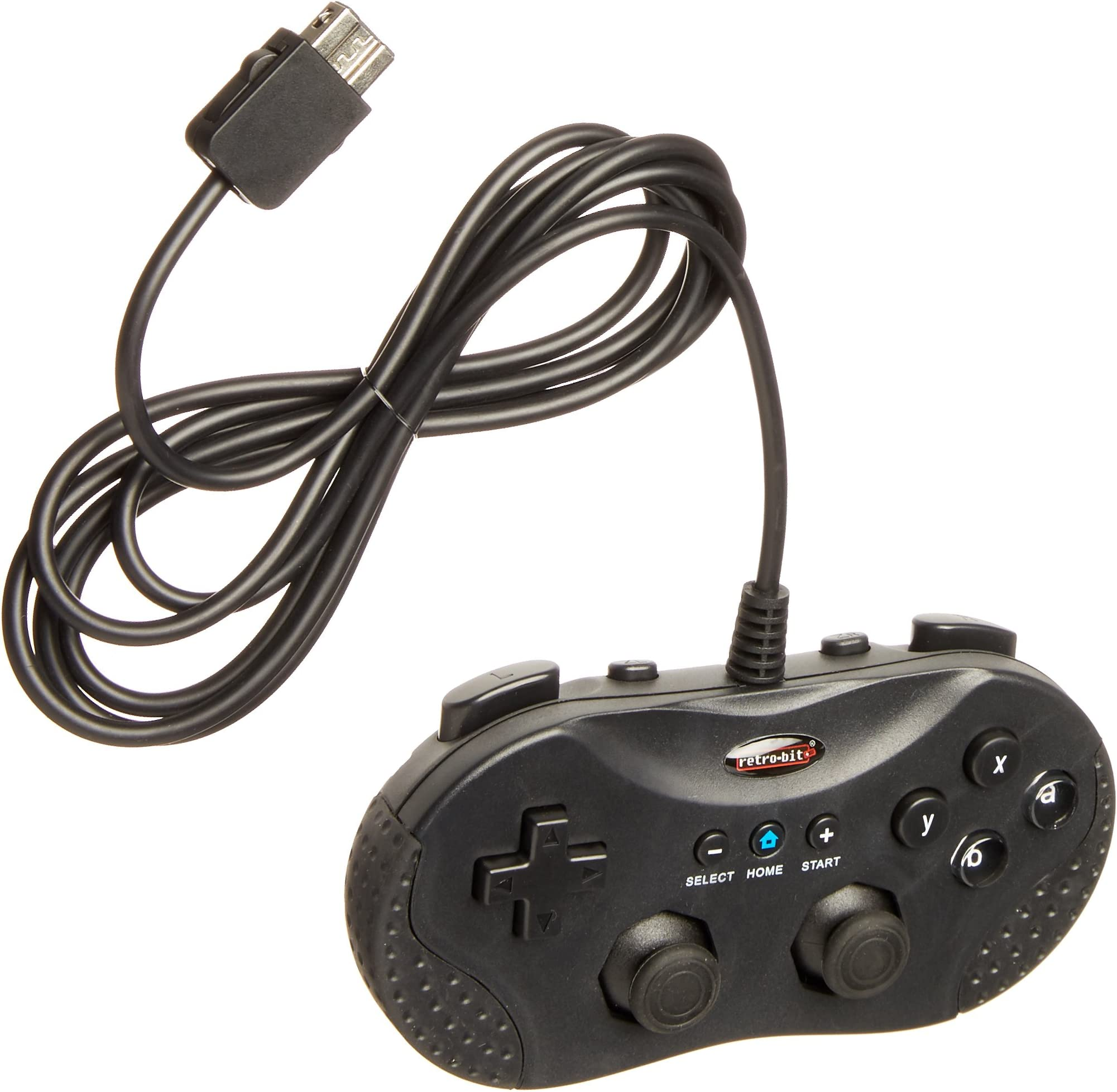 Amazon.com: Retro-Bit - Wired - Classic Controller - Black (Retro ...