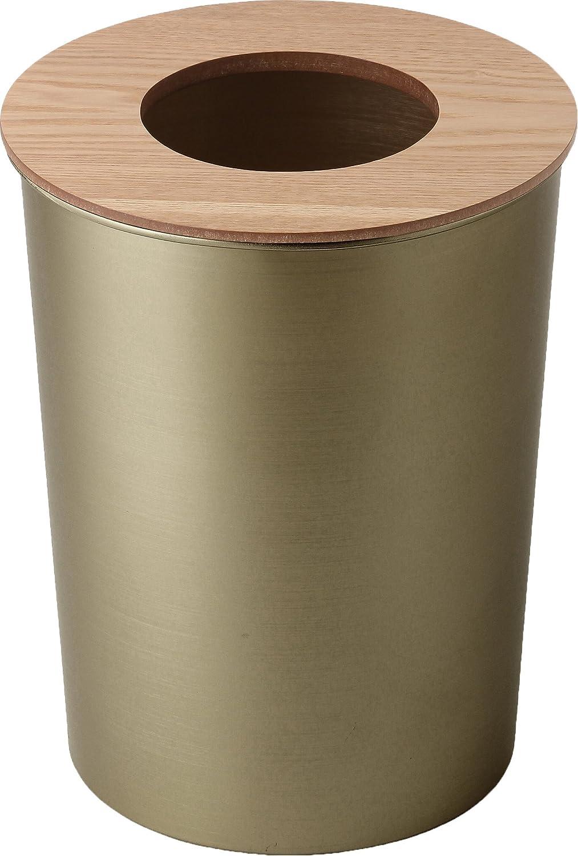 ALUMI & WOOD DUST BOX アルミ & ウッド ダストボックス [モスグリーン×ナチュラル] B00FWJ6OEA