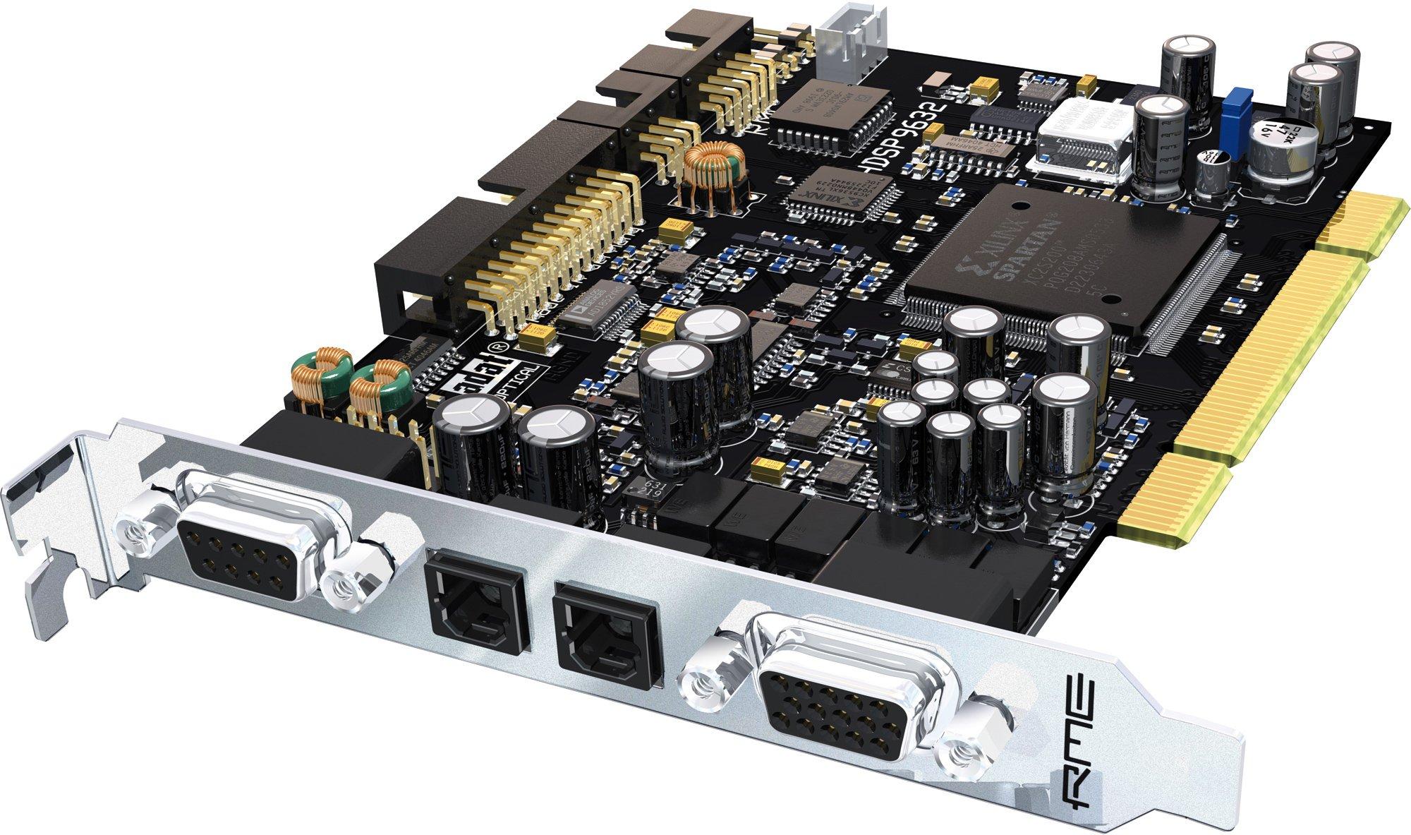 RME HDSP 9632 PCI audio interface, 32-Channel 24-Bit/192kHz