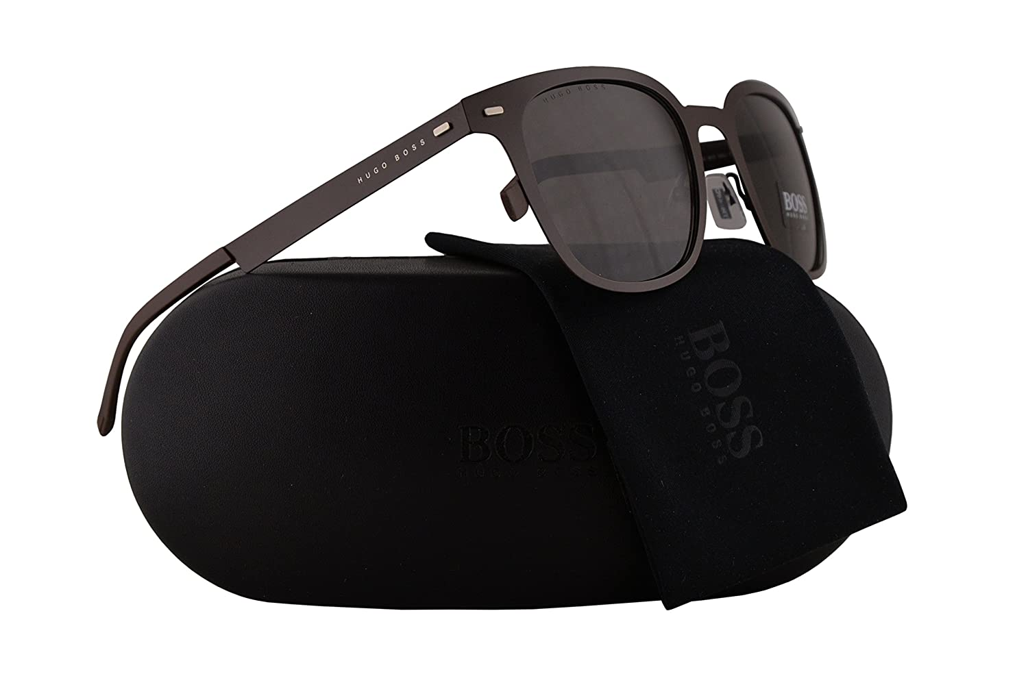 Hugo Boss 0936//S Sunglasses Matte Brown w//Brown Lens 53mm 4IN70 0936S